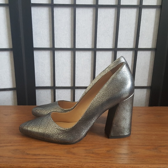 97343698989 Vince Camuto Talise Pointed Toe Thick Block Heel 9